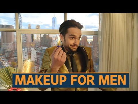 High-end makeup brands find men as their new customer base