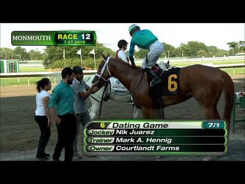 video thumbnail for MONMOUTH PARK 7-27-19 RACE 12