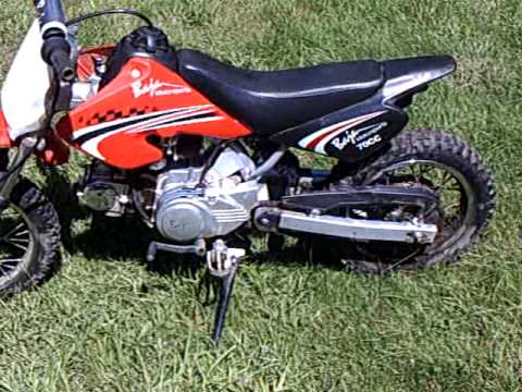 baja motorsports 70cc dirtrunner dr70 youtube rh youtube com baja 70cc dirt bike service manual Baja 125 Dirt Bike