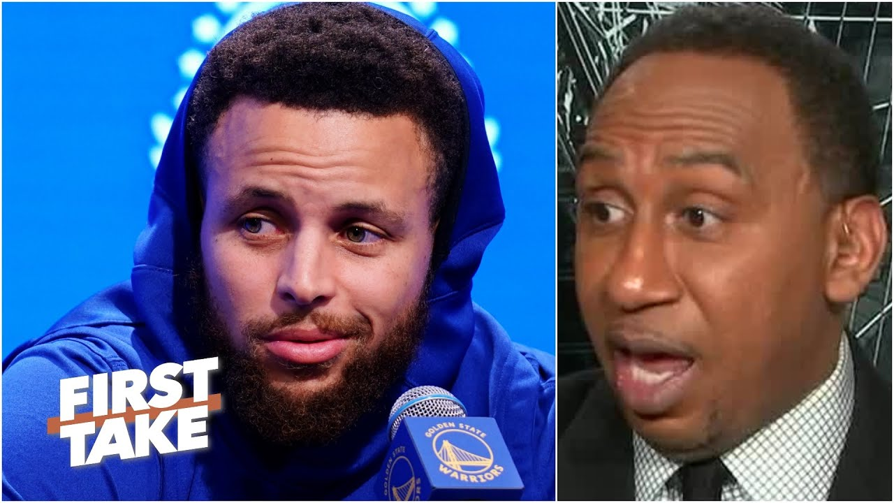 Stephen A. isn't sleeping on Stephen Curry & the Warriors without Klay Thompson   First Take