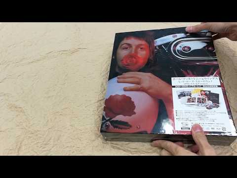[Unboxing] Paul McCartney & Wings: Red Rose Speedway [3 SHM-CD + 2DVD + Blu-ray / Deluxe Edition] Mp3