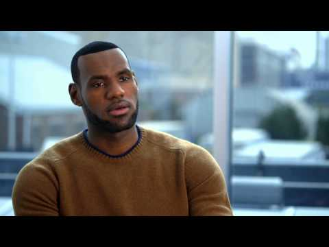 "Trainwreck: Lebron James ""Himself"" Behind the Scenes Movie Interview"