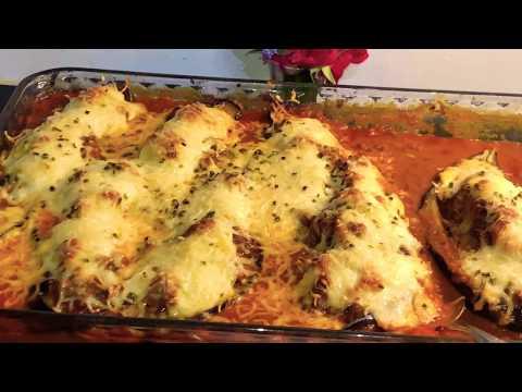 🍆🍅-recette-aubergines-farcies-à-la-viande-hachée-un-délice-(rif)😋👌✅
