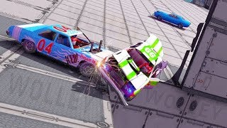 Super Demolition Derby 2017 - Android Gameplay HD - Sports Cars Crashing Games For Kids