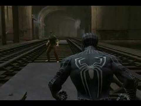 Spider Man 3 Gameplay: Spider Man vs. Sandman - YouTube