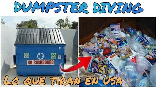 DUMPSTER DIVING /  Lo Que Tiran En USA🇺🇸🇲🇽