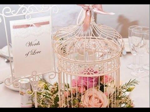 Birdcage Wedding Centerpiece Youtube