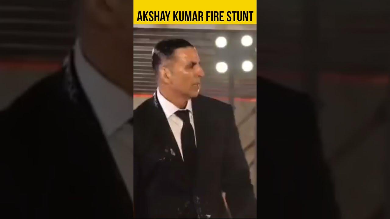 Akshay Kumar Fire Stunt, Akshay Kumar Stunts, Bollywood Actor Stunt #Shorts Blockbuster Battles