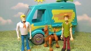 Scooby Doo Mystery Machine Trap Time Playset A Cartoon Network Scooby Doo Toy