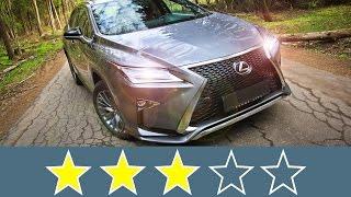 Lexus RX 2016 Жесткость кузова