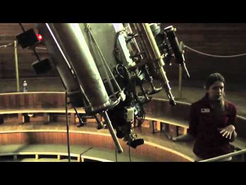 Canals on Mars | Percival Lowell's Clark Telescope | Flagstaff Arizona Observatory Video