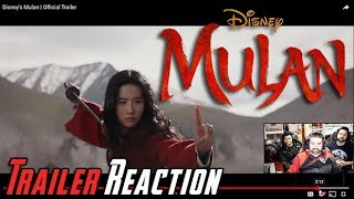 Mulan (2020) Angry Trailer Reaction!