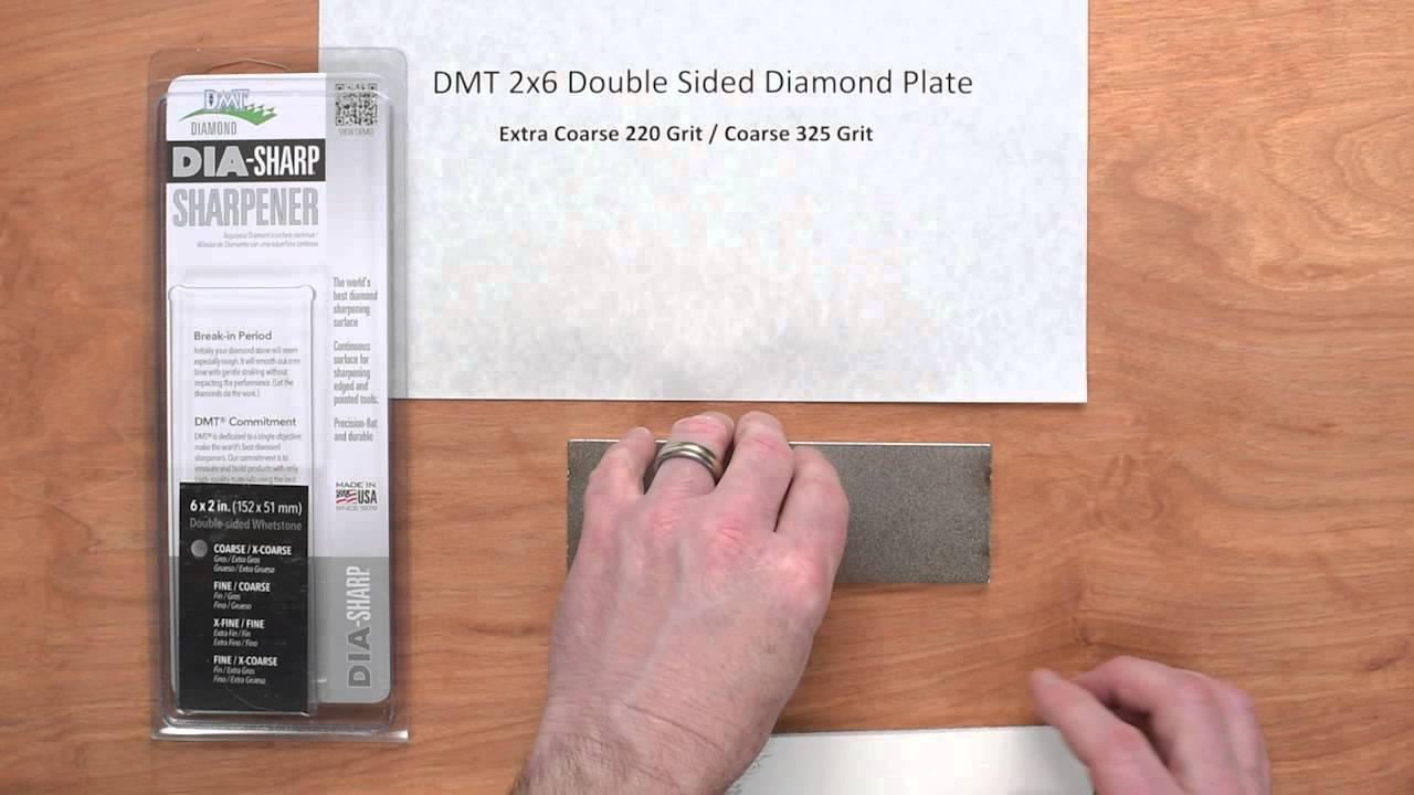 Dmt 2x6 Double Sided Diamond Plate Quick Look Youtube