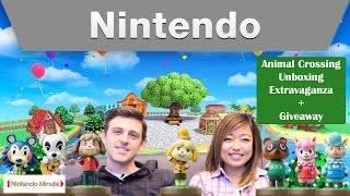 Nintendo Minute - Animal Crossing Unboxing Extravaganza + Giveaway