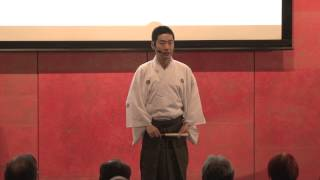 Noh changes with imagination | Tatsushige Udaka | TEDxKyotoUniversity