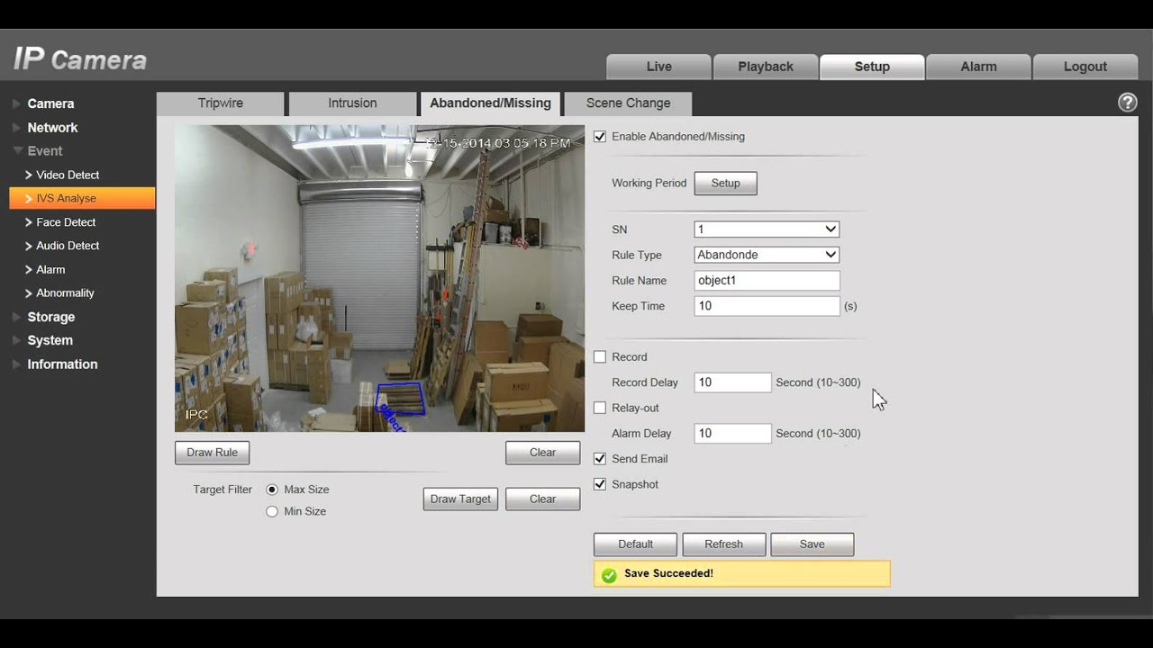 Smart Camera Features - What is IVS?