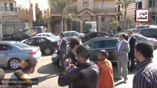 ونش يتسبب فى تغيير سير موكب الرئيس مرسى