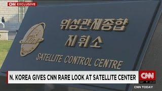 N. Korea gives CNN rare look at satellite center