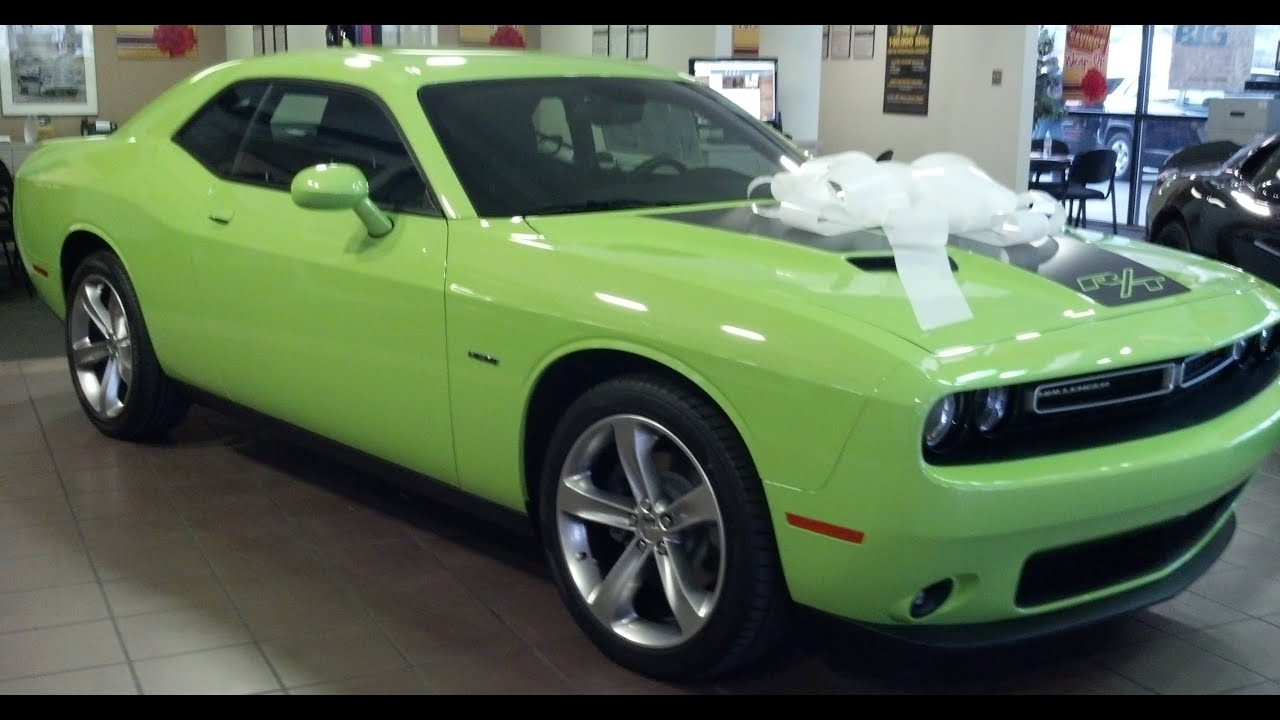 2015 Dodge Challenger R T In Sublime Youtube