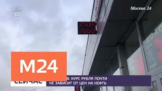 Смотреть видео Глава Минфина оценил зависимость рубля отценнанефть - Москва 24 онлайн