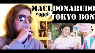 Reaction Tokyo Bon 東京盆踊り2020 Makudonarudo Namewee 黃明志 ft. Meu Ninomiya girls reaction first react thumbnail