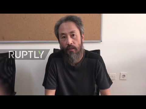 Turkey: Japanese journalist hostage freed after 3-year captivity in Syria