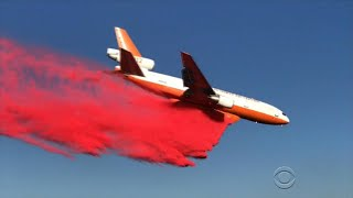 Wildfires rage across Western states