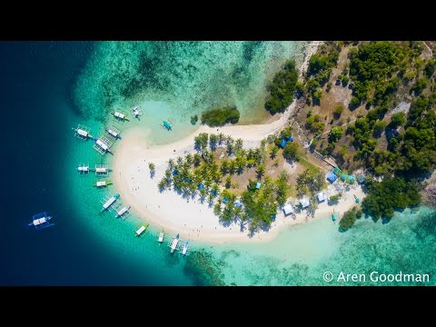 Coron, Palawan- The best place on Earth! FROM THE AIR