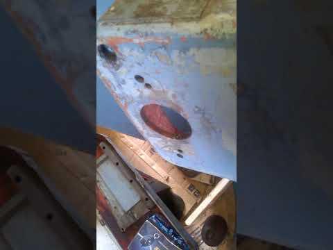 Вскрытие коробки подач сверлильного станка 2А125
