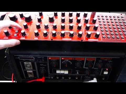 Behringer Neutron & Roland RE501 Chorus Echo
