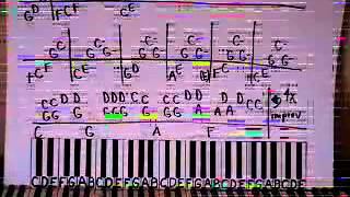 Superman Piano Lesson part 1 Five for Fighting