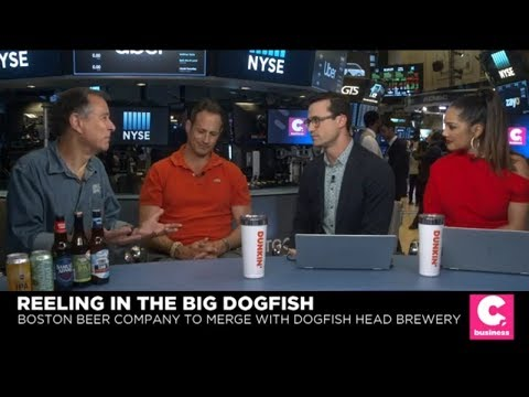 After Merger, Boston Beer And Dogfish Head Still 'Davids In A World Of Goliaths'