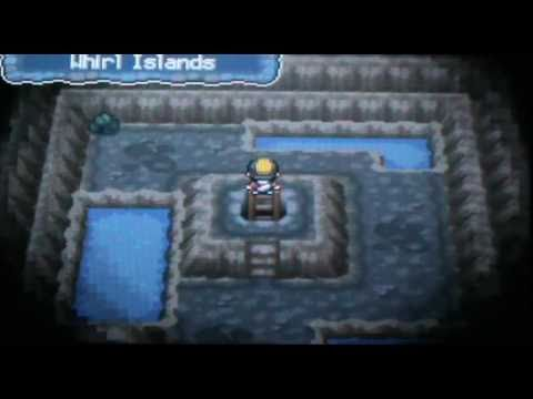 Hidden Rare Candy on Whirl Islands - Pokemon Soul Silver - YouTube