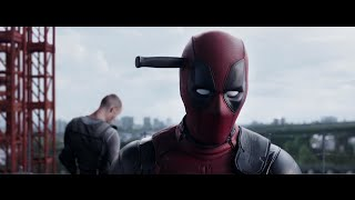 Deadpool 2016   knife to the brain (wtf) sence 1080p hd