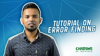 Short-cut Tips on Error Finding