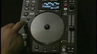 Denon DNS1200 CD MP3 Player - Demo