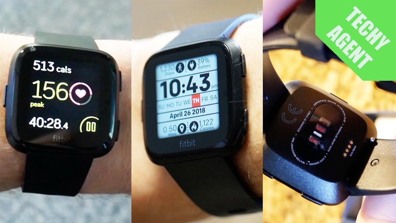 Fitbit Versa Full Exercise Review Youtube