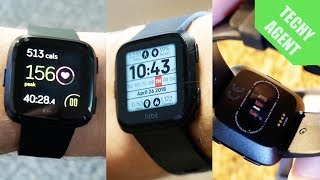 Fitbit Versa - Full Exercise REVIEW