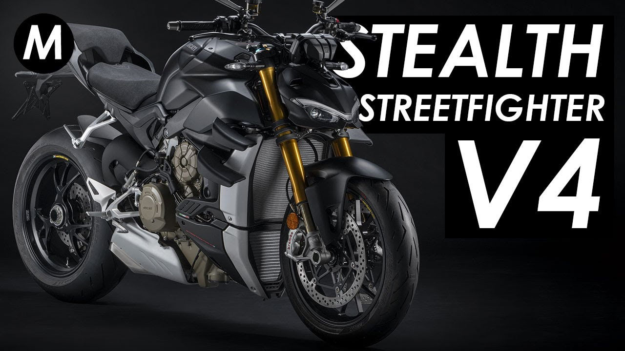 New 2021 Ducati Streetfighter V4 Dark Stealth Edition Announced!