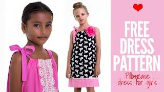 Free Girls Dress Pattern - Pillowcase Dress