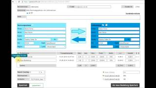 SpeedySeller - Kundendaten verwalten und neue Bestellungen hinzufügen