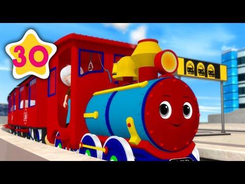 Choo Choo Train V2   +More Kids Songs   Nursery Rhymes   Little Baby Bum