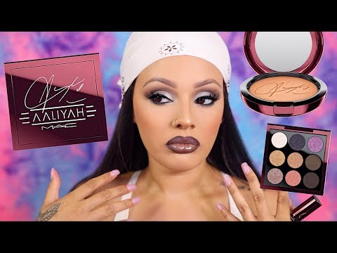 Dust yourself off, and try again!!! MAC x Aaliyah Collab Review | Viva_Glam_Kay