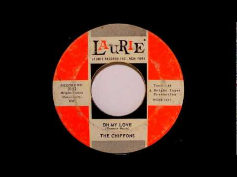Oh My Lover- The Chiffons-'1963-Laurie 3152.wmv
