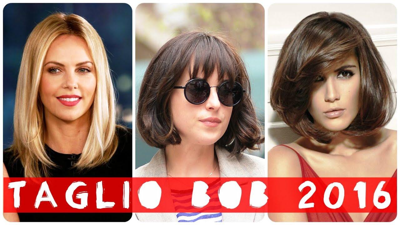Taglio capelli bob 2016