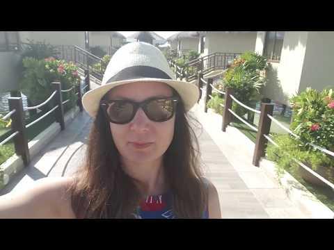 El Dorado Maroma and Palafitos Overwater Bungalow Resort tour
