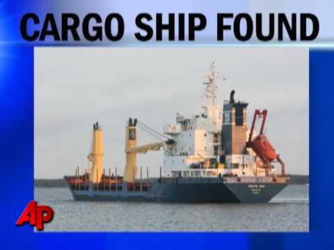 Missing Cargo Ship Found Near Cape Verde