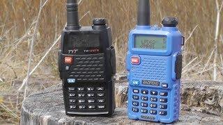 Радиостанция TYT TH-UVF9 обзор и сравнение с Baofeng UV5R
