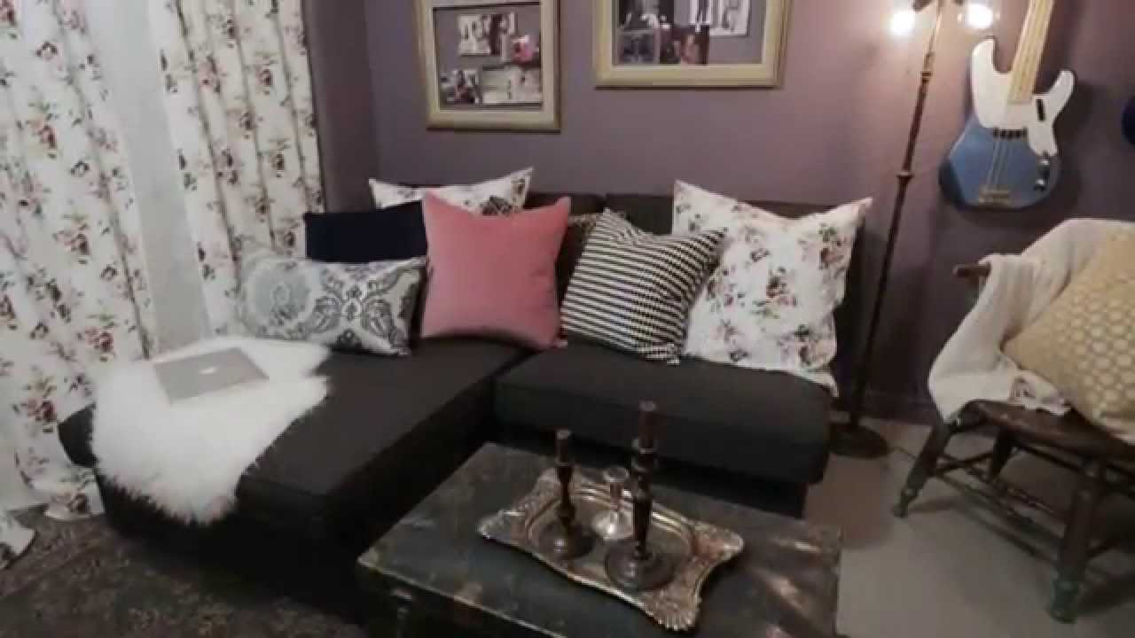 Interior design how to decorate a cool teen girl s boho bedroom youtube - Bed room for teen ...