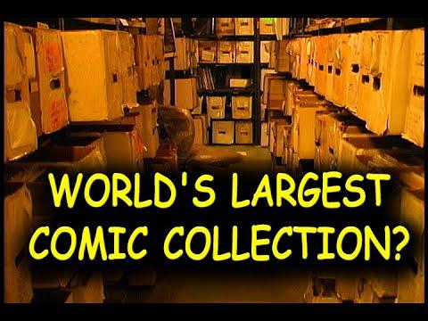 Secret Comic Book Warehouse